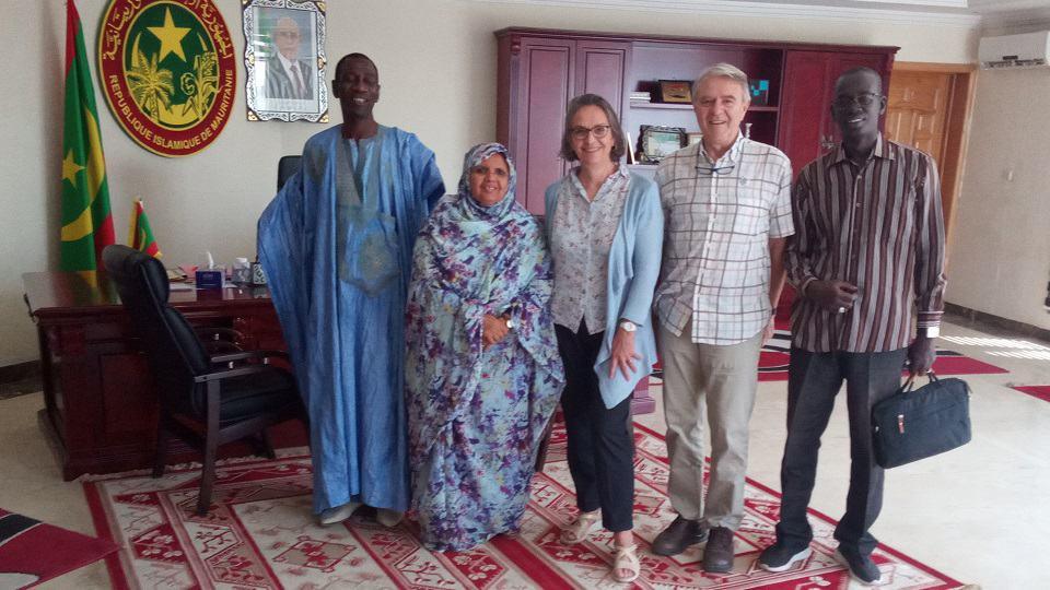 Bertemu dengan Presiden Kawasan Nouakchot