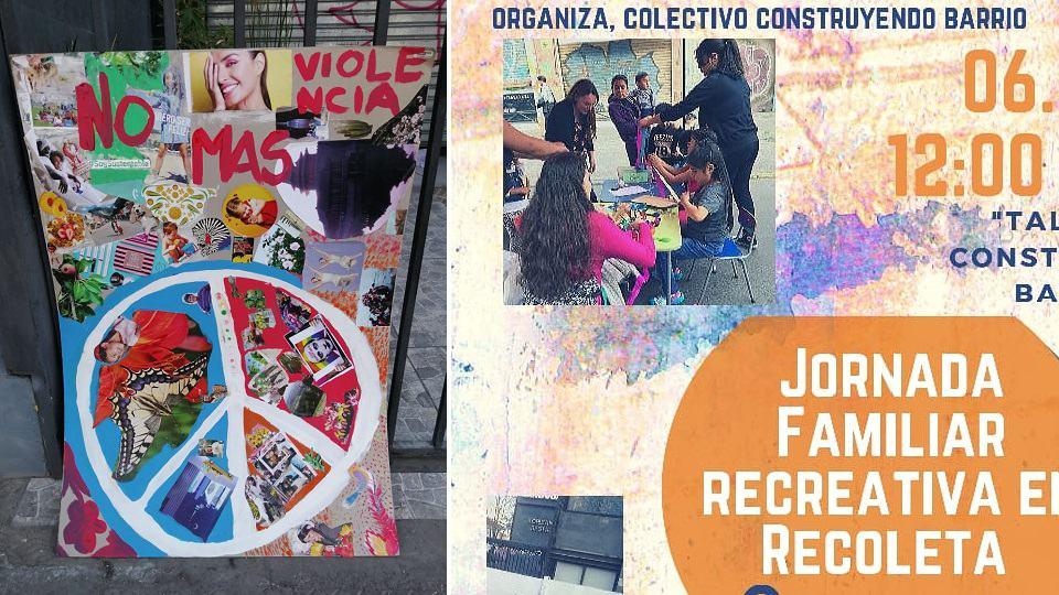 Recoleta, wat sosiale weefsel opwek