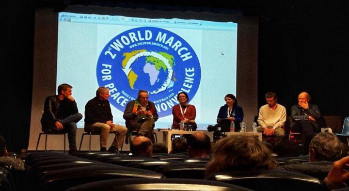 Lanzamiento oficial de la 2ª Marcha Mundial por la Paz y la Noviolencia en Madrid