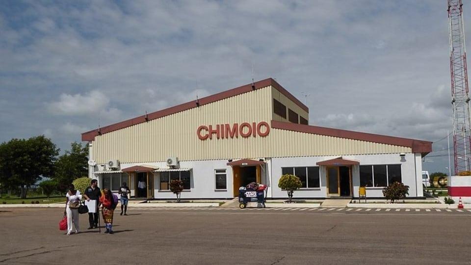 Chimoio Flughafen Mosambik