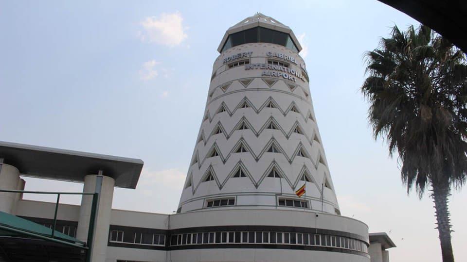 Simbabwe Flughafen Harare
