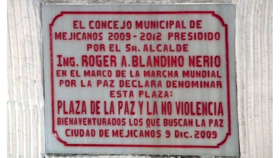 Llegada a Mejicanos, El Salvador