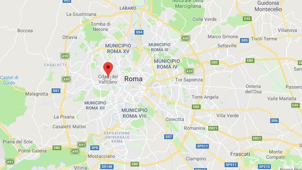 Fanamarihan'ny Papa, Vatican City