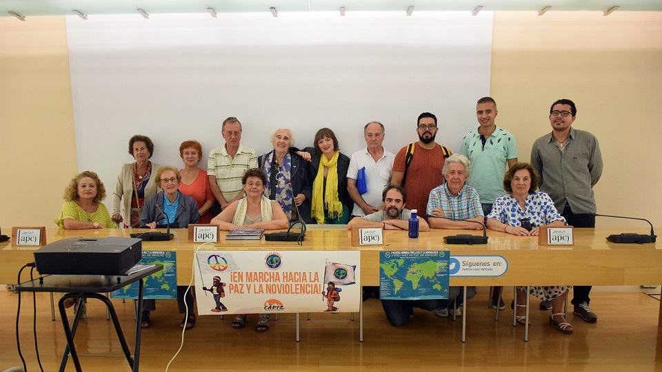 Presentación en Asociación de la Prensa de Cádiz