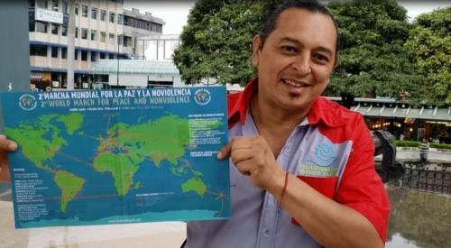 Adhesión del artísta plástico costarricense Juan Carlos Chavarría