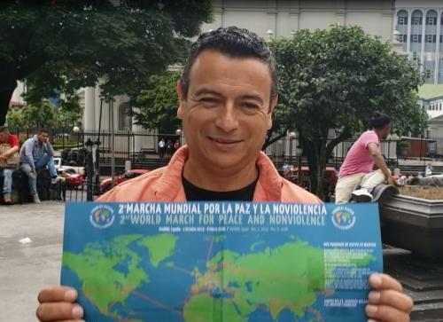Adhesión del cata autor costarricense Santy Montoya