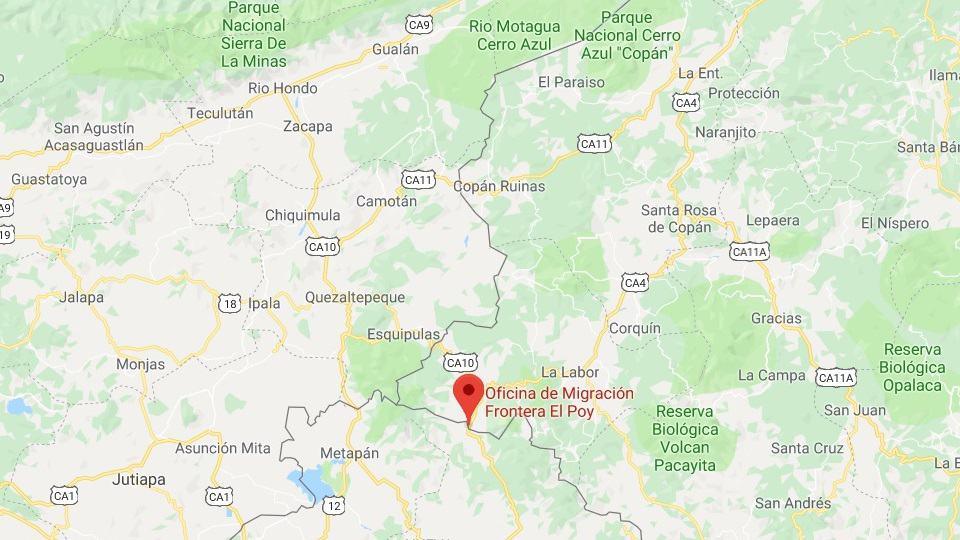 Akt für den Frieden in El Poy Border El Salvador / Honduras