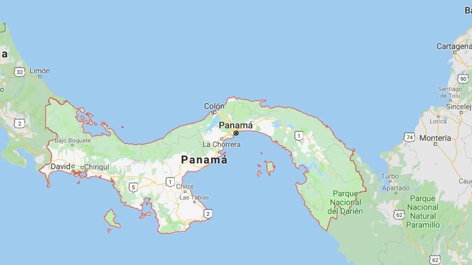 Ankunft in Panama