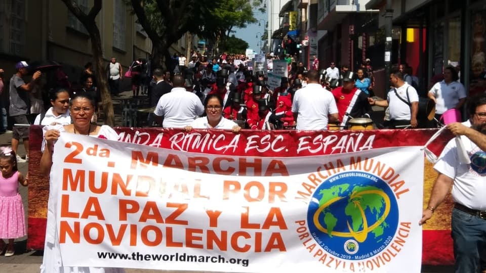 Promoción de la Marcha en San José