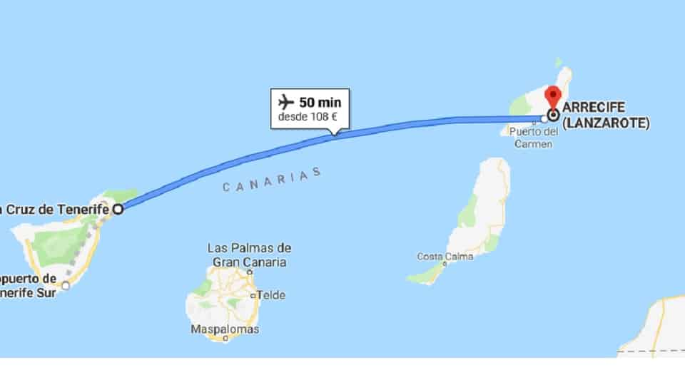 Ankunft auf Lanzarote, Kanarische Inseln