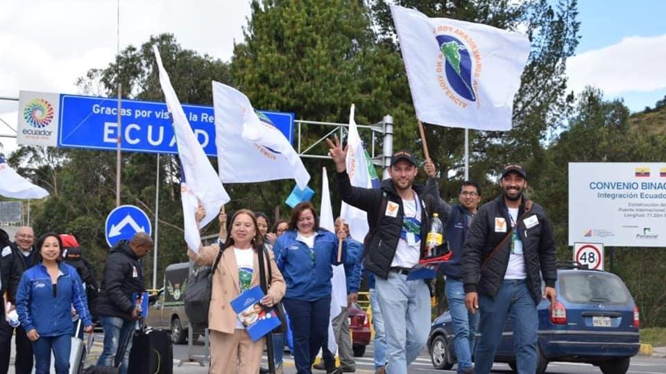 Ecuador presente en la ruta por la Paz