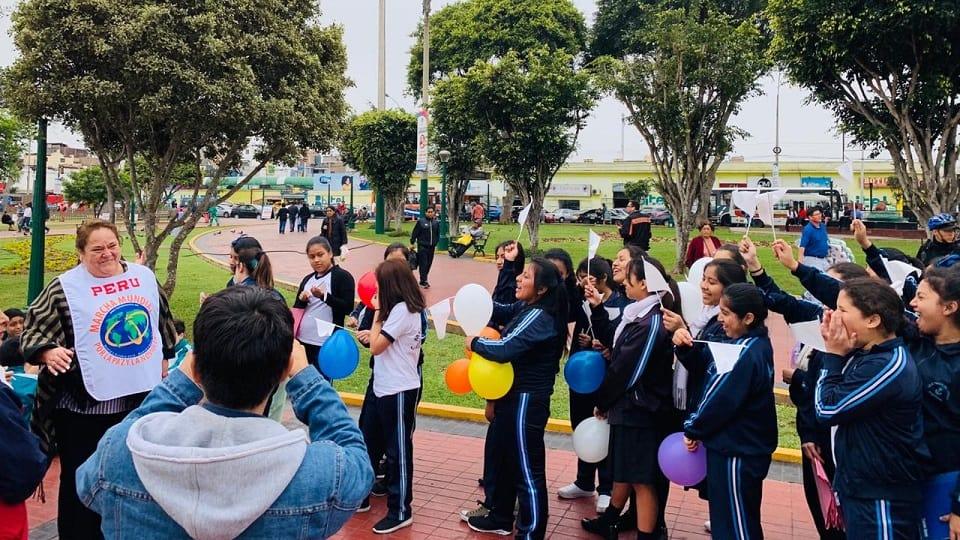 Perú saludó recién amanecía