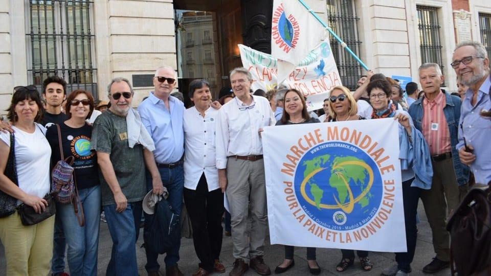 Arranque de 2ª Marcha por la Paz y la Noviolencia