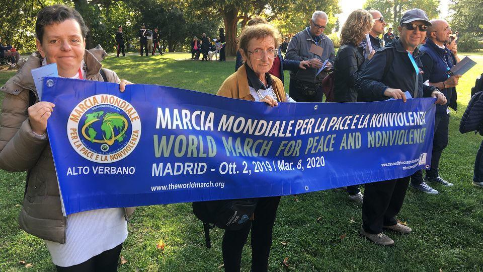 Marcha interreligiosa por la paz en Varese
