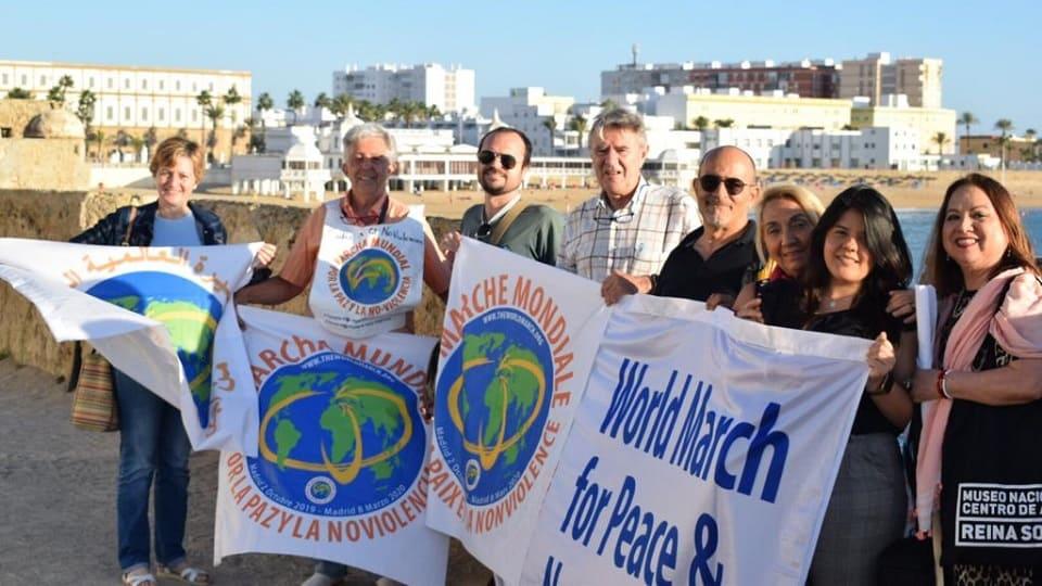 La Marcha Mundial llega a Cádiz