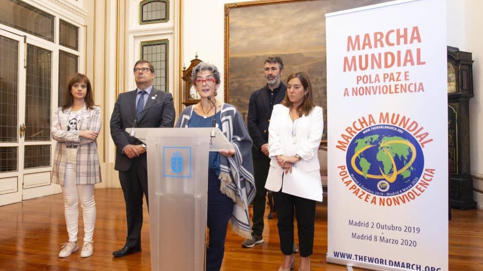 A Coruña Lanzamiento oficial de la Marcha