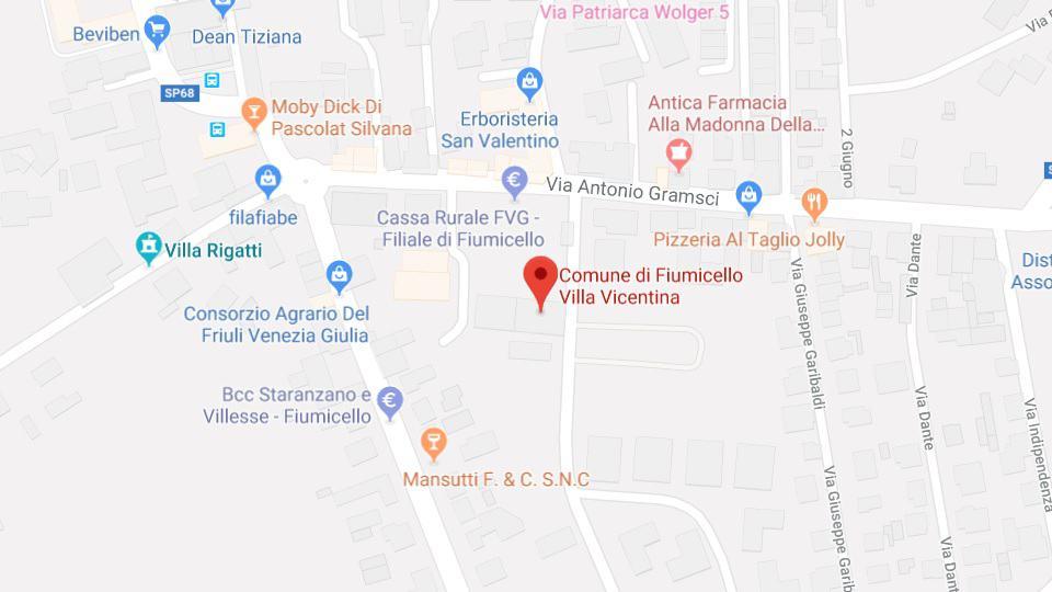 Vom Bildschirm zur Realität, Fiumicello Villa Vicentina
