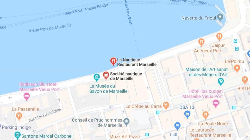 Ankunft im Hafen von Marseille