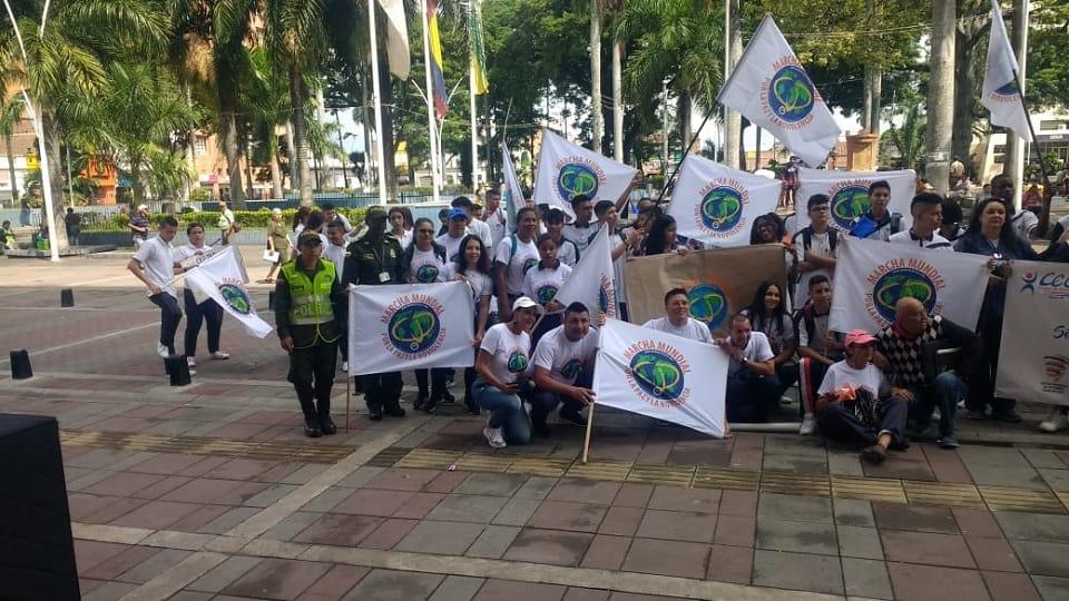 Actividades por la Paz en Palmira, Colombia - The World March