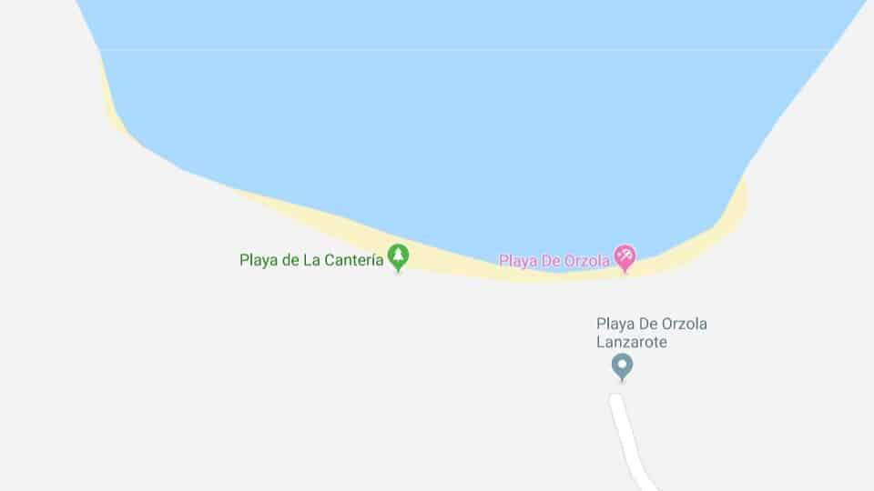 Reinigung des Cantería Beach, Lanzarote