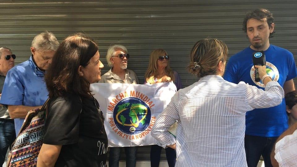 Il team di base della marcia a Córdoba