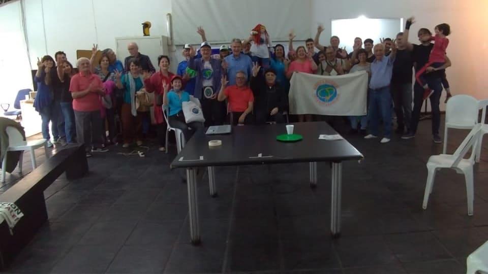 Het basisteam arriveerde in Argentinië