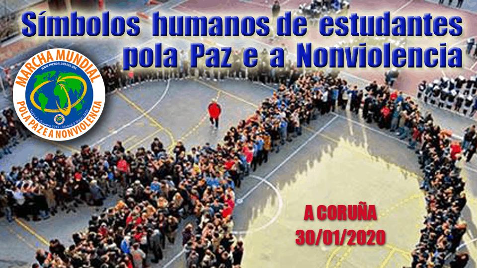 7.600 estudiantes realizarán símbolos humanos