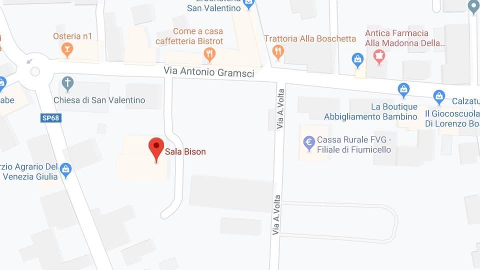 La Terra e la casa de tutti, Fiumicello Villa Vicentina