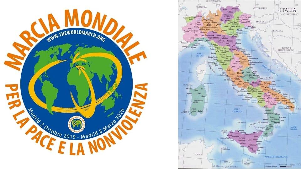 La Marcha Mundial llega a Italia