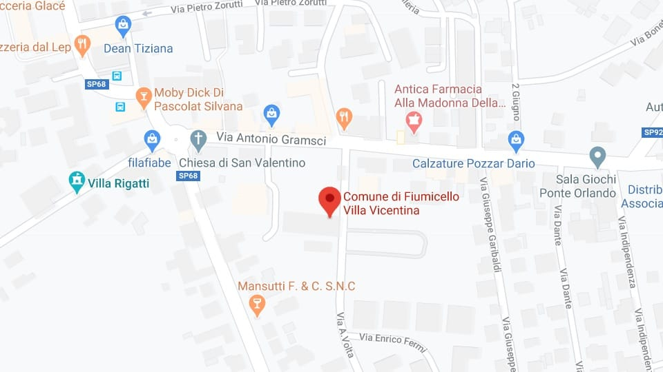 Feest van Valentijnsdag, Fiumicelo Villa Vicentina, 14 februari
