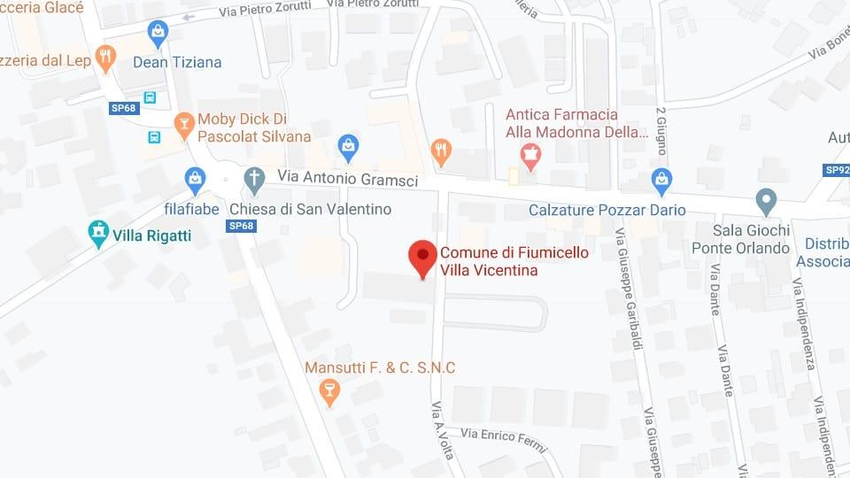 Feest van Valentijnsdag, Fiumicelo Villa Vicentina, 15 februari