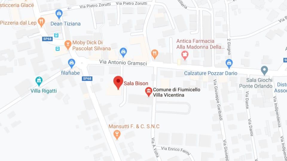 Feest van Valentijnsdag, Fiumicelo Villa Vicentina, 13 februari