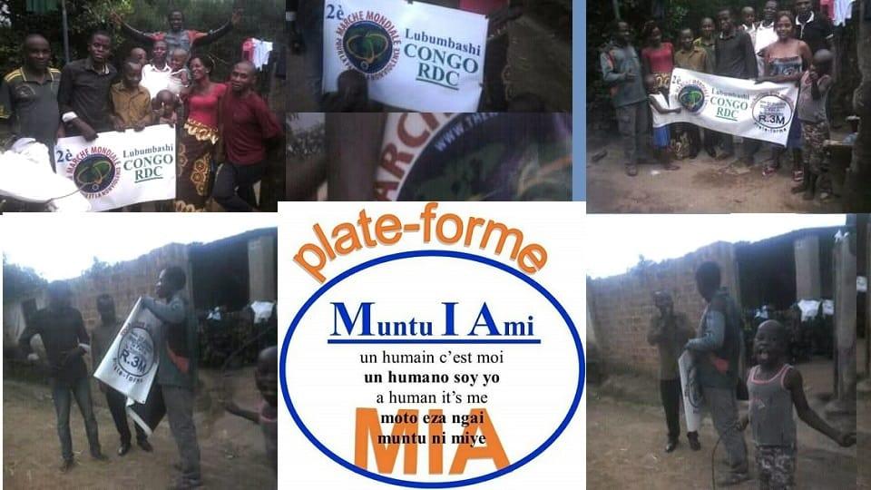 """Aktiviti """"Menyebarkan Bulan Mac"""" di Lubumbashi"""