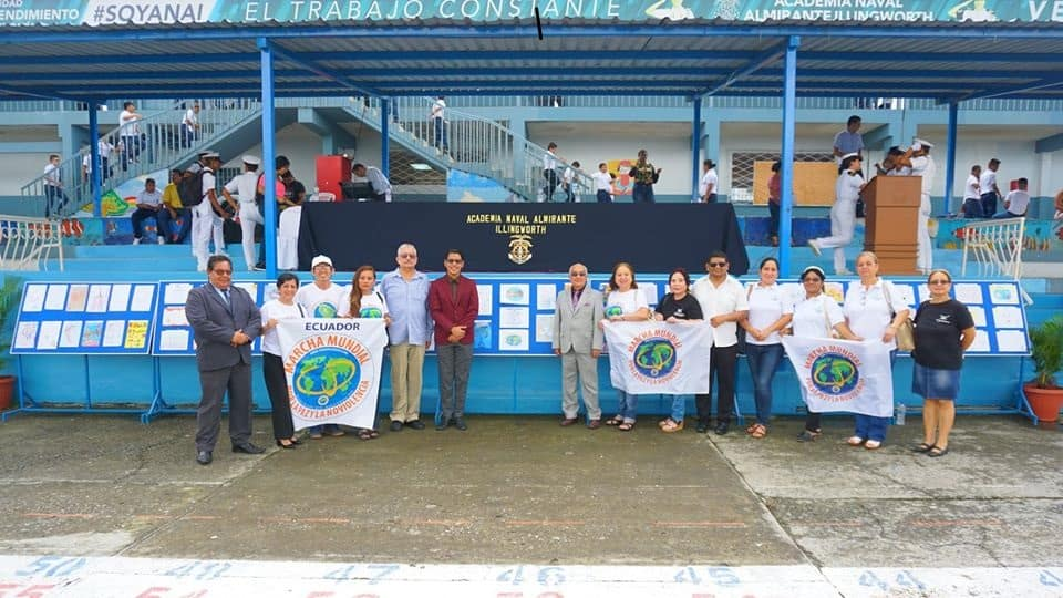 Ecuador finalizó la Marcha Mundial