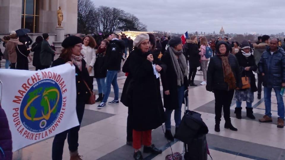 París y su región celebran la Marcha