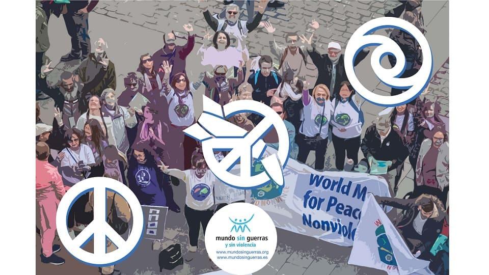 + שלום + אי אלימות - נשק גרעיני