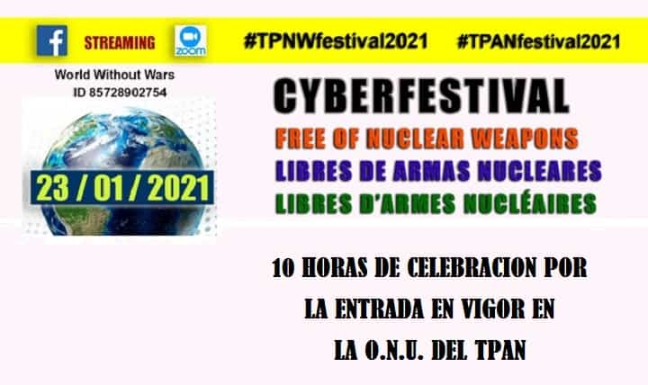 CYBERFESTIVAL Free of nuclear weapons
