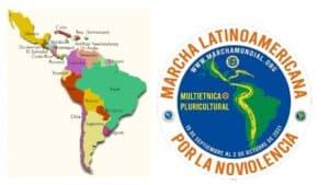 Az erőszakmentesség márciusa Latin-Amerikában halad át