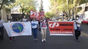 Segunda Semana de la Marcha Latinoamericana en Argentina