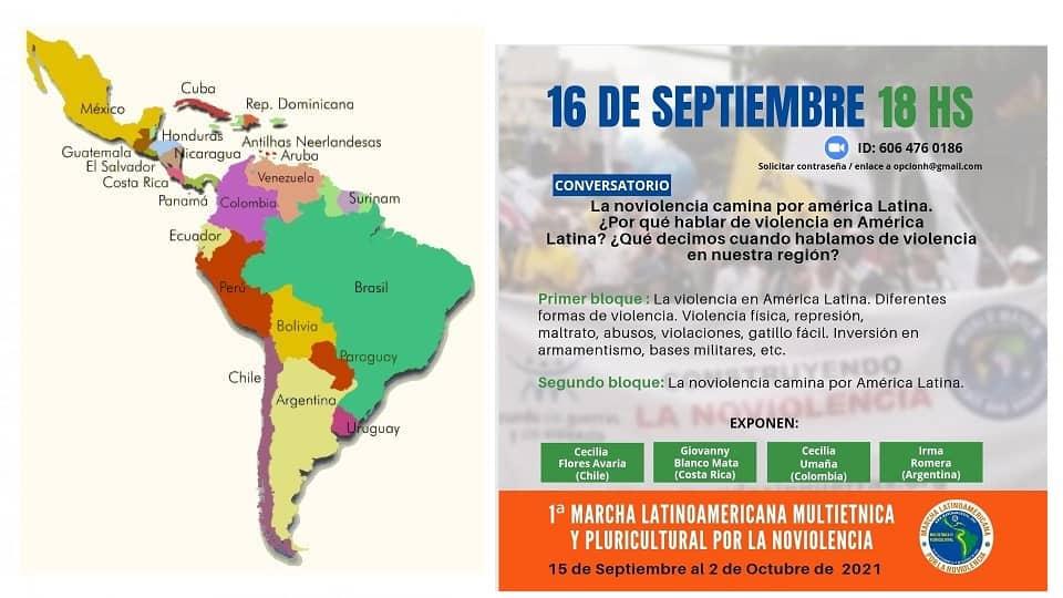 Разговор Насилието обикаля Латинска Америка