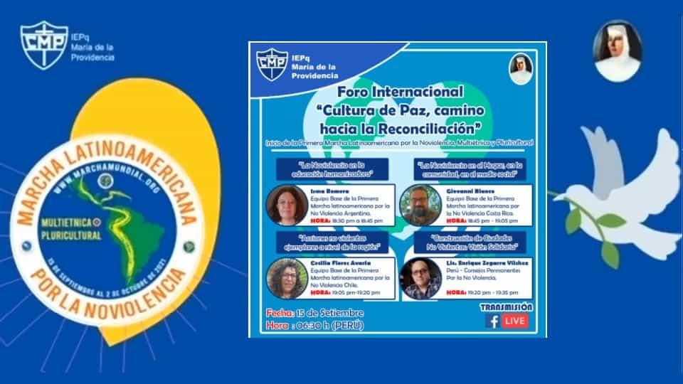 """Международен форум """"Култура на мира, път към помирение"""""""