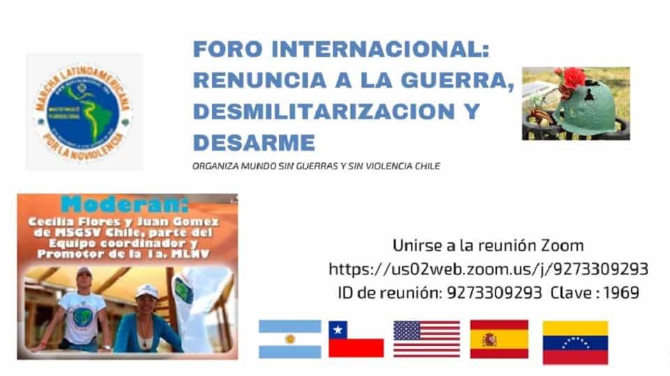 Rinunzja tal-Forum Internazzjonali tal-Gwerra