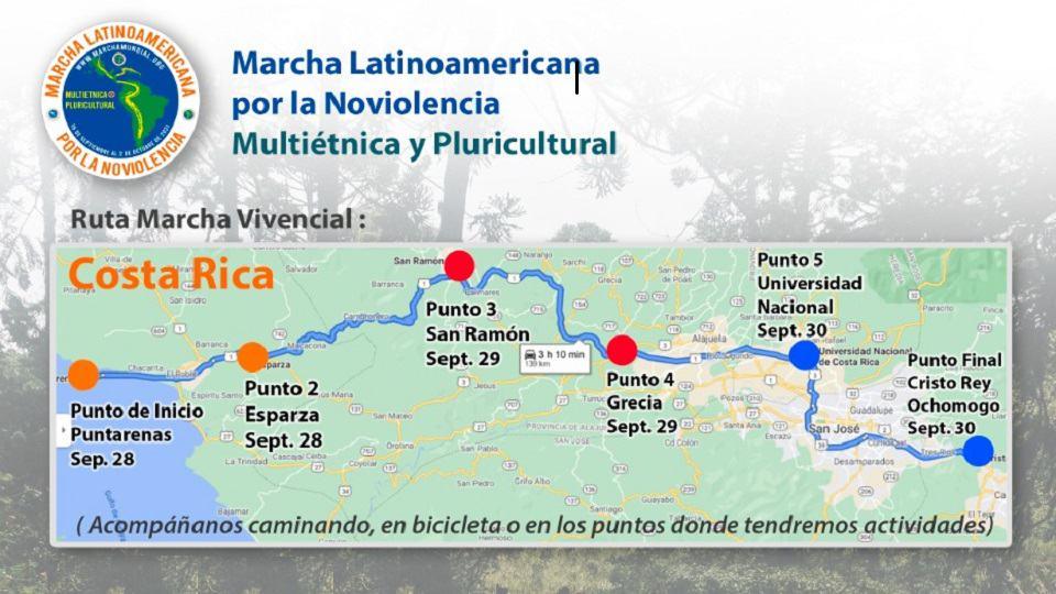 Март Коста Рика Опитен ден март 3