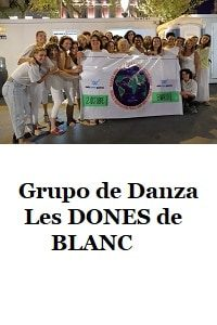 Dance of the group DONES de BLANC